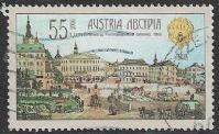 Austria SG2843 2006 750th Anniversary of Lvov 55c good/fine used